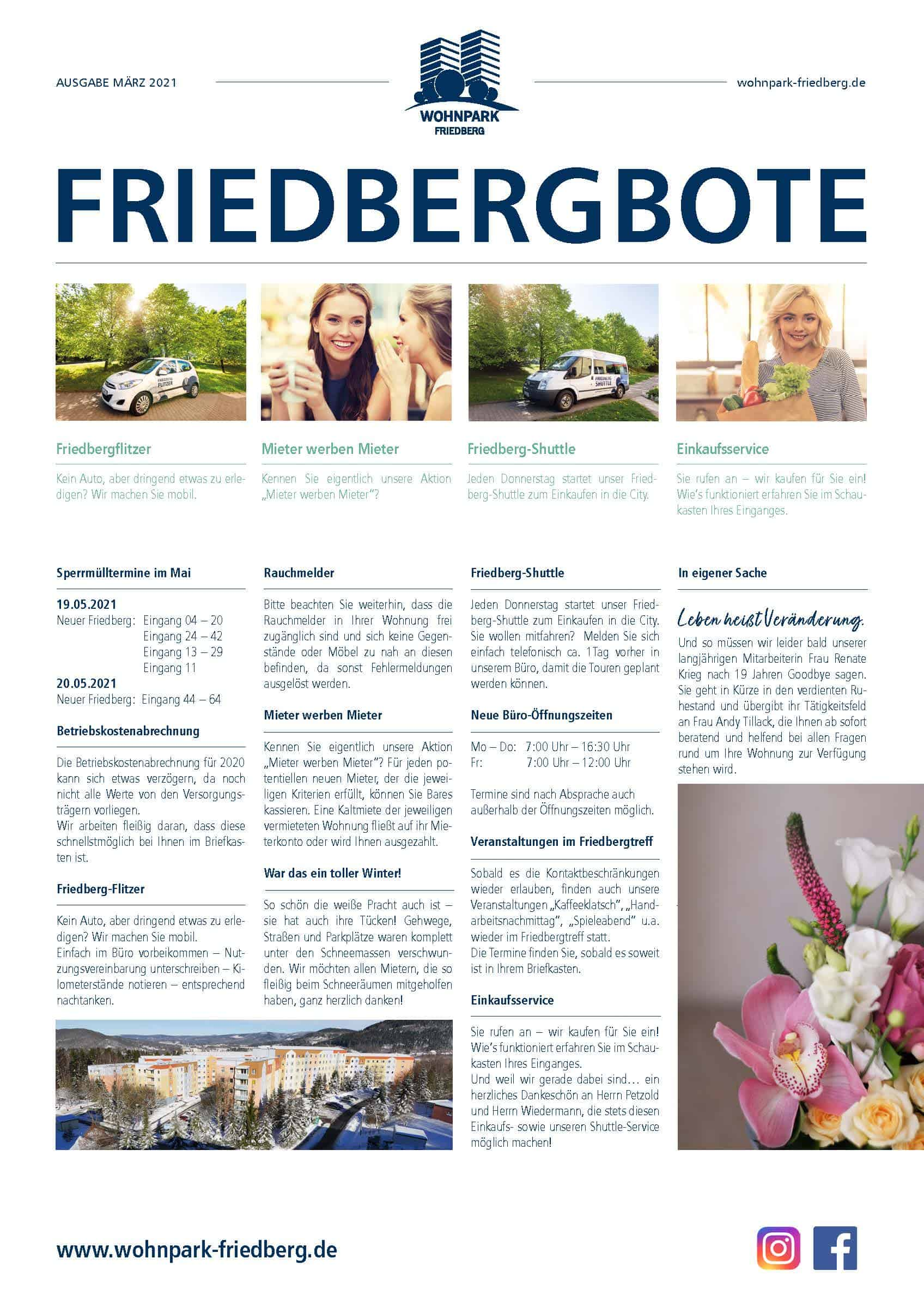 Friedbergbote – März 2021